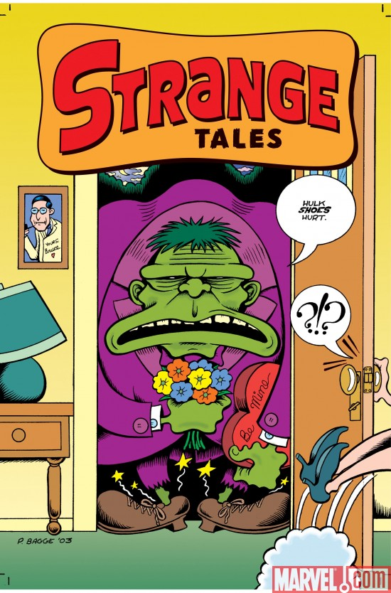 StrangeTales_02_Cover Preview The Second Issue Of Strange Tales