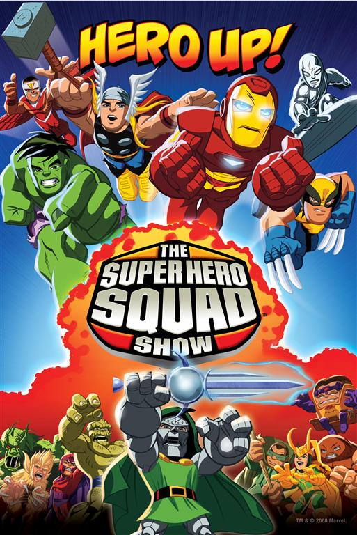 "SuperHeroSquadShowLarge ""Hero Up!"" With The Super Hero Squad Show Schedule"