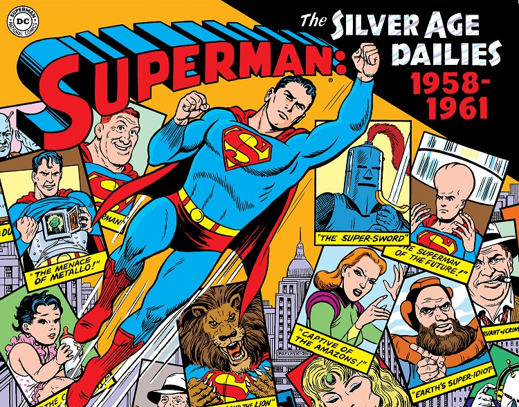 SupermanSilver1_PR IDW to publish newspaper adventures of DC's biggest heroes