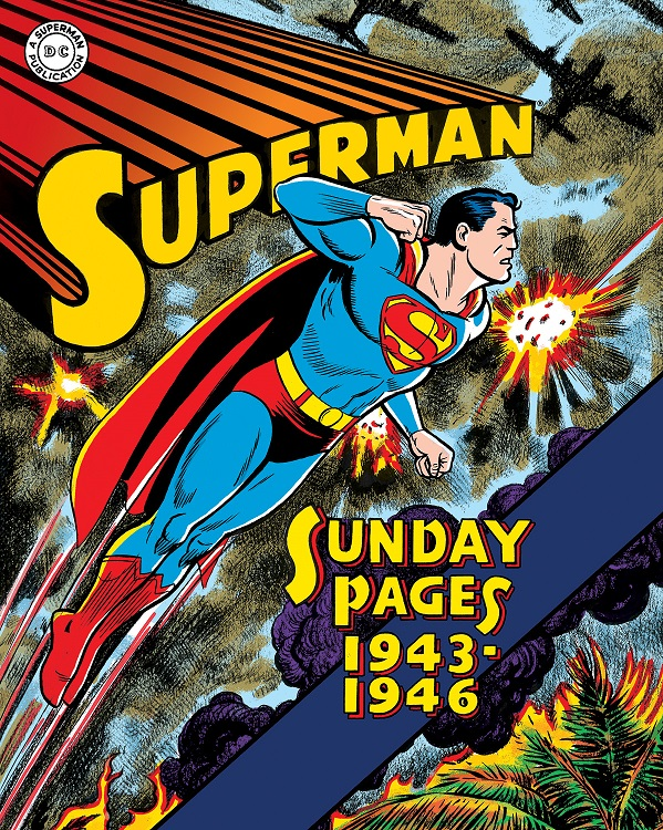 Superman_GA_Sundays1PR Library Of American Comics collects Superman's Sunday Strips