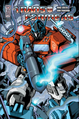 TF_ONGOING_01_CovC_2nd400 Transformers #1 sells out, 2nd printing available December 2