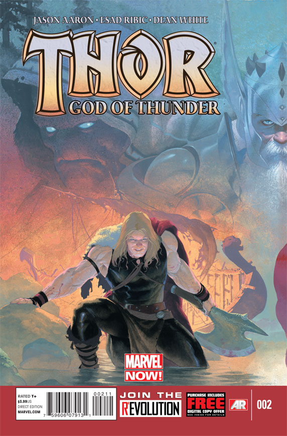 THORGOT2012002_DC11_F Marvel NOW! unleashes THOR: GOD OF THUNDER #2 cover
