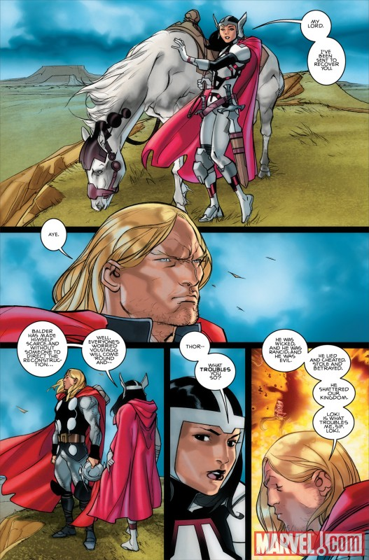 THOR_615_PREVIEW3 New Look at Matt Fraction and Pasqual Ferry's THOR debut