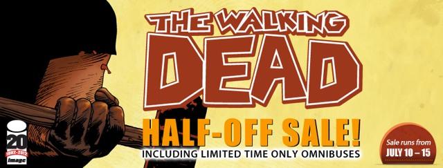 TWD_100_sale_PR Celebrate THE WALKING DEAD #100 with ComiXology's half-off sale