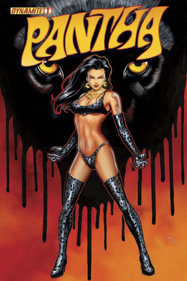 TexPantha-00 From the pages of Vampirella comes PANTHA