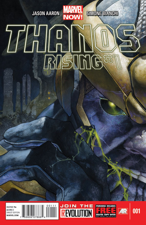 ThanosRising_1_Cover Jason Aaron and Simone Bianchi tell the story of THANOS RISING