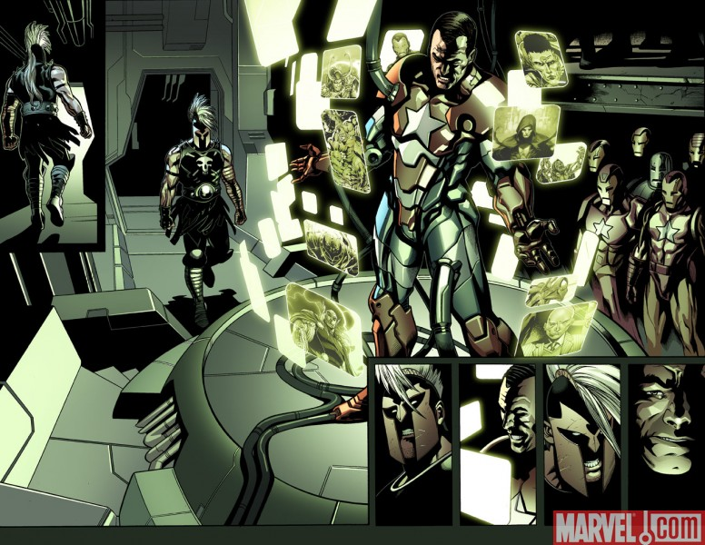 TheList_Avengers_Preview1 Dark Reign: The List - Avengers Preview