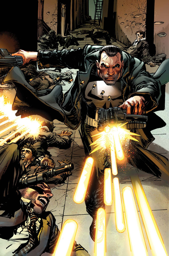 ThePunisher_1_CoverVariantNA First Look at THE PUNISHER #1