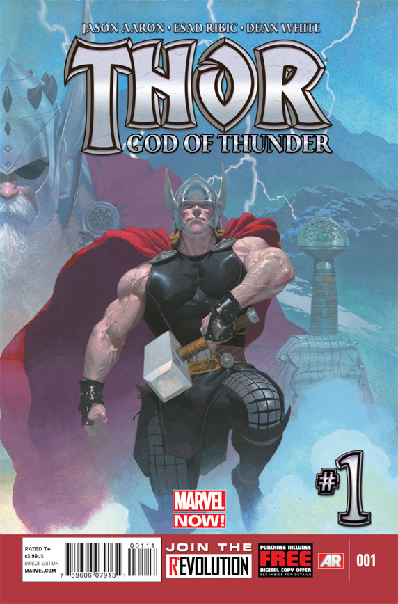 ThorGodOfThunder_1_Cover Marvel NOW! unleashes THOR: GOD OF THUNDER #2 cover
