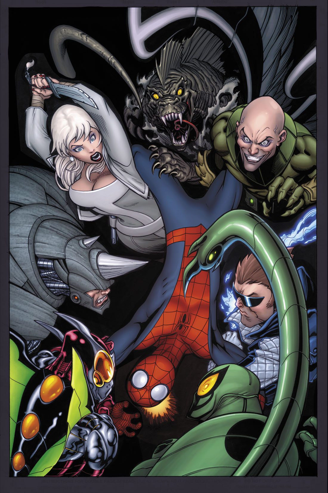 UCSPIDERMAN_153 First Look At McGuinness and McNiven's DEATH OF SPIDER-MAN Covers
