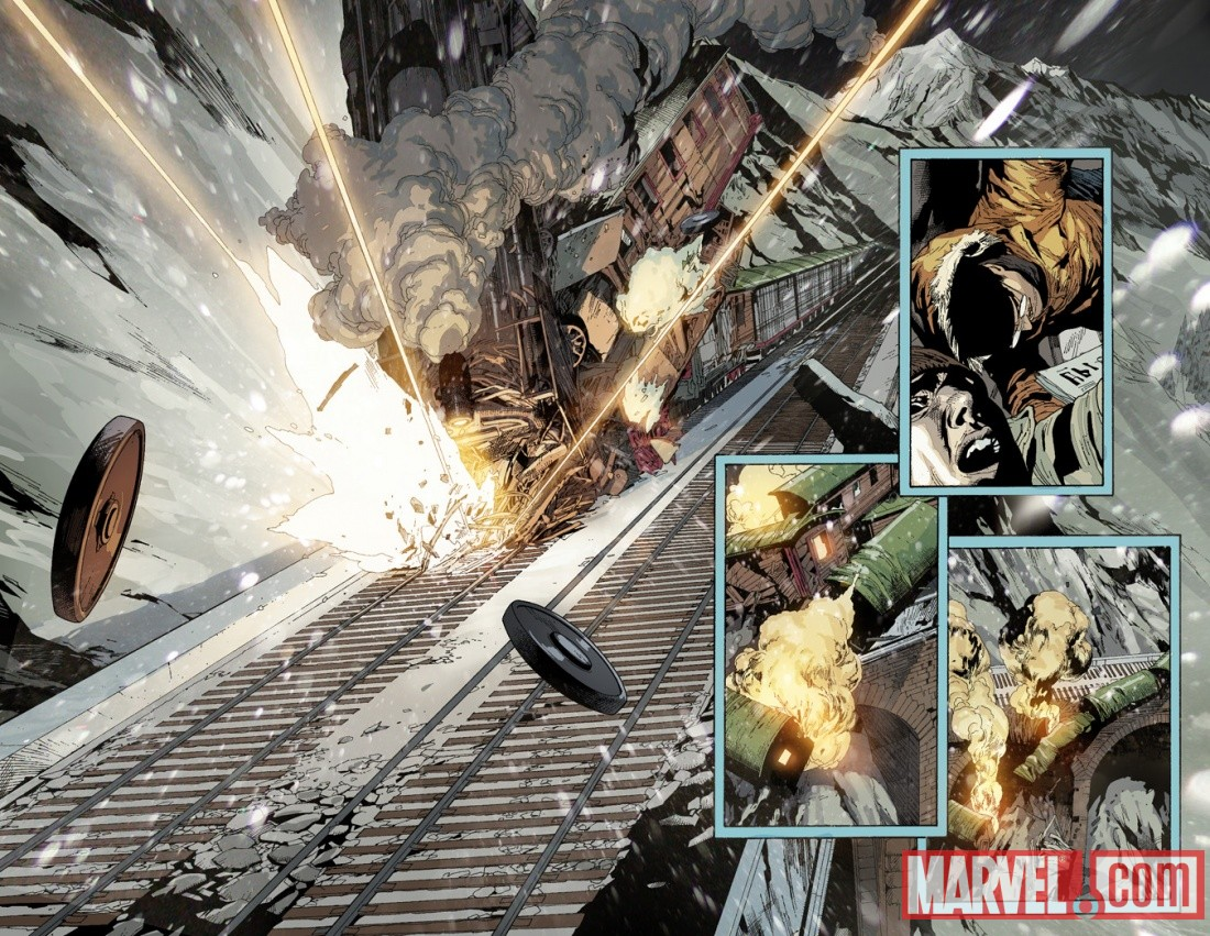ULTAVENV_1_PREVIEW2 New Look At DEATH OF SPIDER-MAN