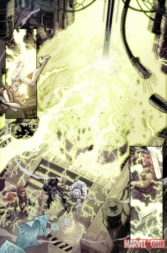 UNCANNYXMENANNUAL_3_PREVIEW4 Steve Rogers, The X-Men and Namor Must ESCAPE FROM THE NEGATIVE ZONE