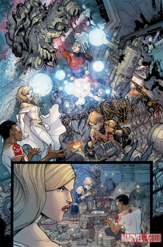 UNCANNYXMENANNUAL_3_PREVIEW6 Steve Rogers, The X-Men and Namor Must ESCAPE FROM THE NEGATIVE ZONE