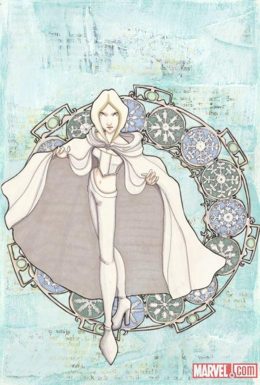UNCANNYXMEN_534_LeeVariant Marvel reveals Janet K. Lee's X-MEN 'Emma' variant cover