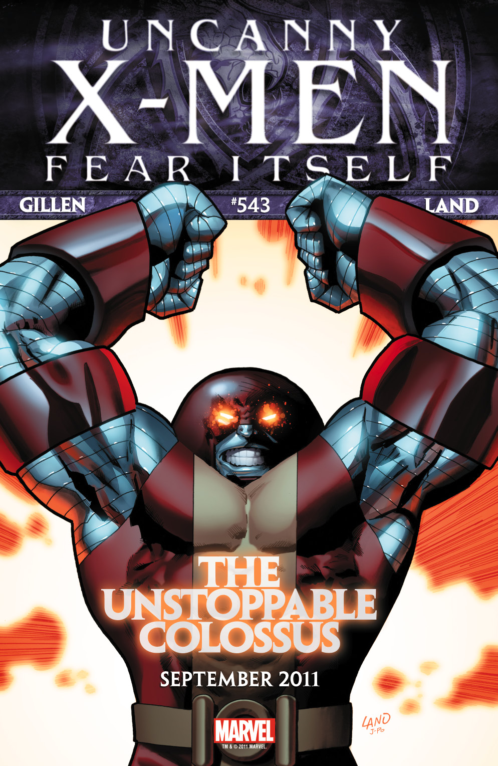 UNCANNY_XMEN_543_Teaser FEAR ITSELF unleashes The Unstoppable Colossus