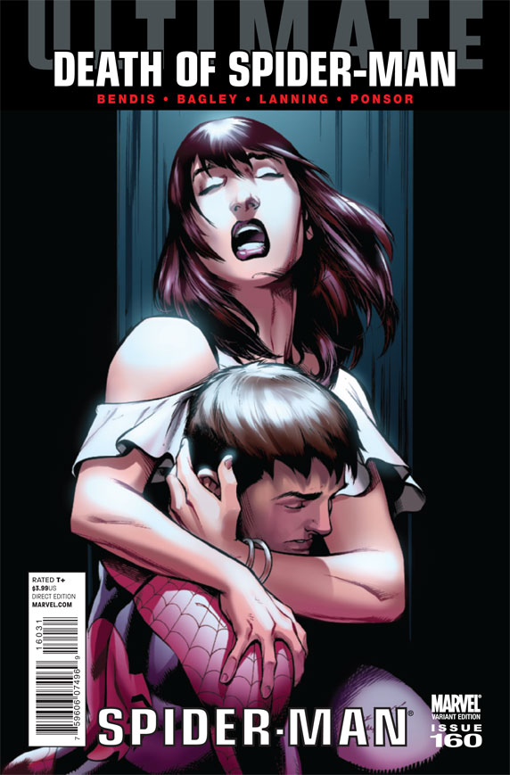 UltimateComicsSpiderMan_160_BagleyVariant Marvel unveils Death Of Spider-Man Spoiler Variant Cover