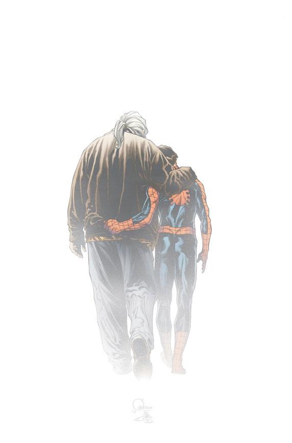 UltimateComicsSpiderMan_160_QuesadaVariant Marvel discloses Joe Quesada's DEATH OF SPIDER-MAN variant covers
