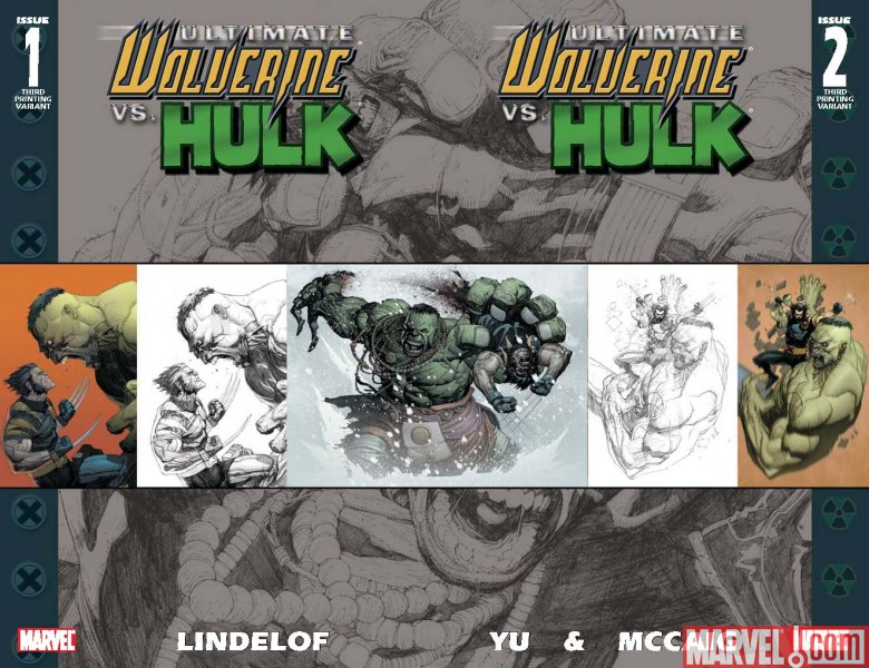 UltimateWolverineVSHulk_01_02_ThirdPrintingCovers Ultimate Wolverine And Hulk Return With Third Printings