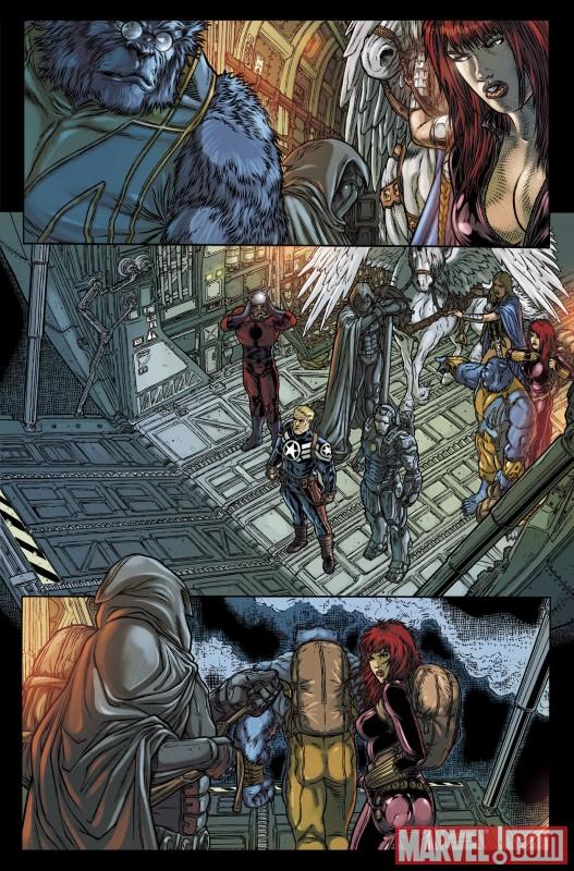 VOTMK_10_Preview2 Moon Knight Joins The Secret Avengers