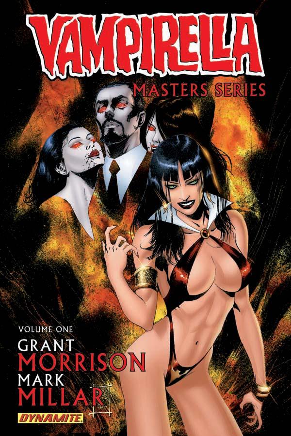 VampiMastersVol1-Cov-Temp Dynamite announces VAMPIRELLA Masters Series and Archives