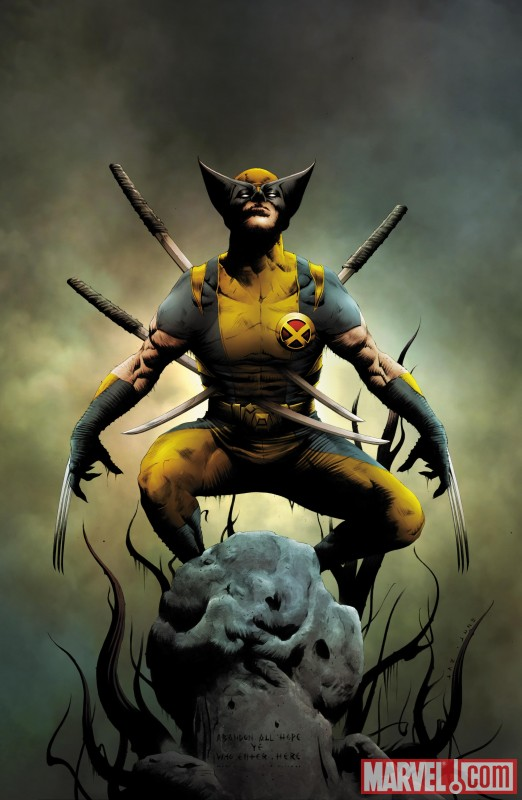 Wolverine_01_Cover New Look at WOLVERINE GOES TO HELL