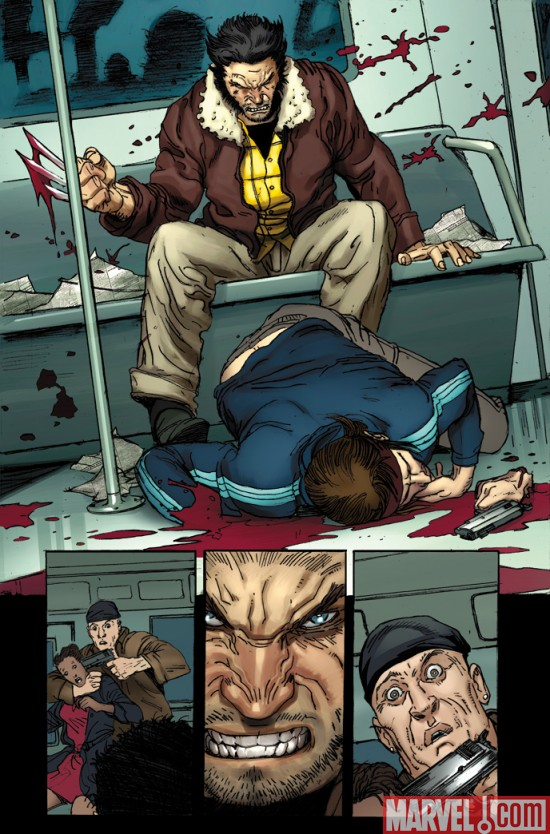 Wolverine_WeaponX__01_Preview1 Wolverine Weapon X #1 Preview