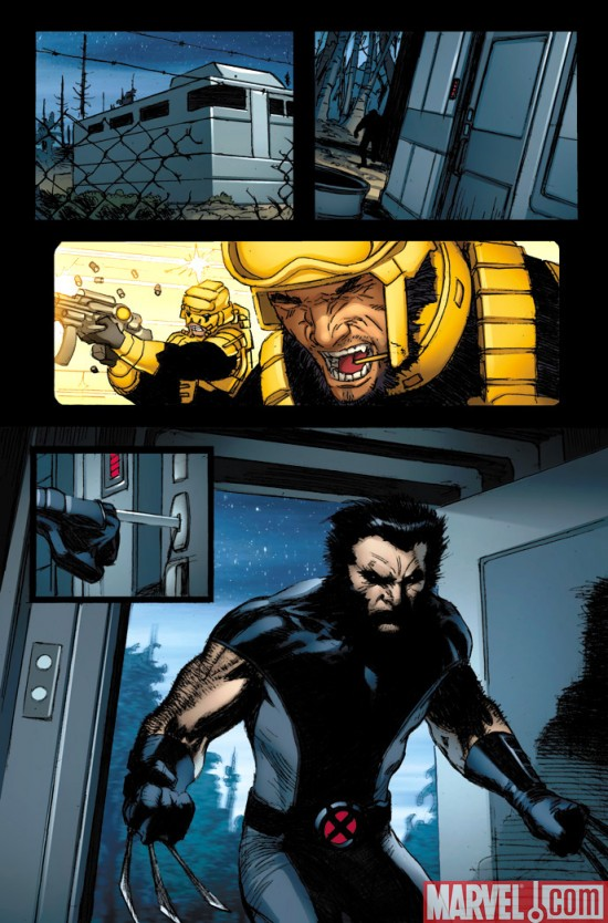 Wolverine_WeaponX__01_Preview2 Wolverine Weapon X #1 Preview