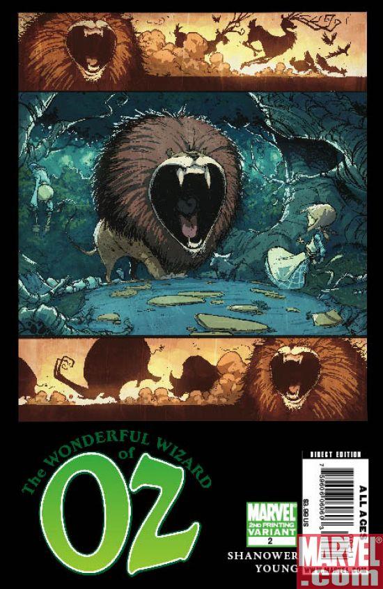WonderfulWizardOfOZ_02_SecondPrinting Wonderful Wizard of Oz #2 Returns With 2nd Printing