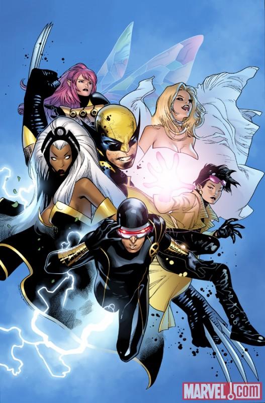 X-Men_01_CoipelVariant Marvel unveils Olivier Coipel's X-MEN #1 Variant Cover