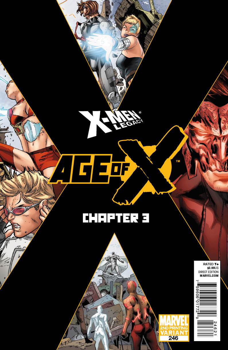 XMENLEGACY246_2nd_COV AGE OF X continues to sell like hotcakes