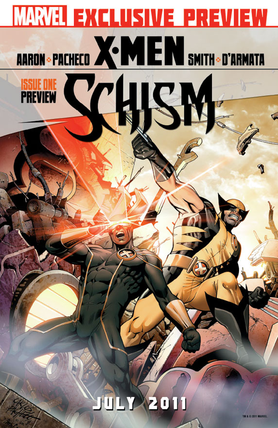 XMEN_Schism_1_Cover First Look At X-MEN: SCHISM #1