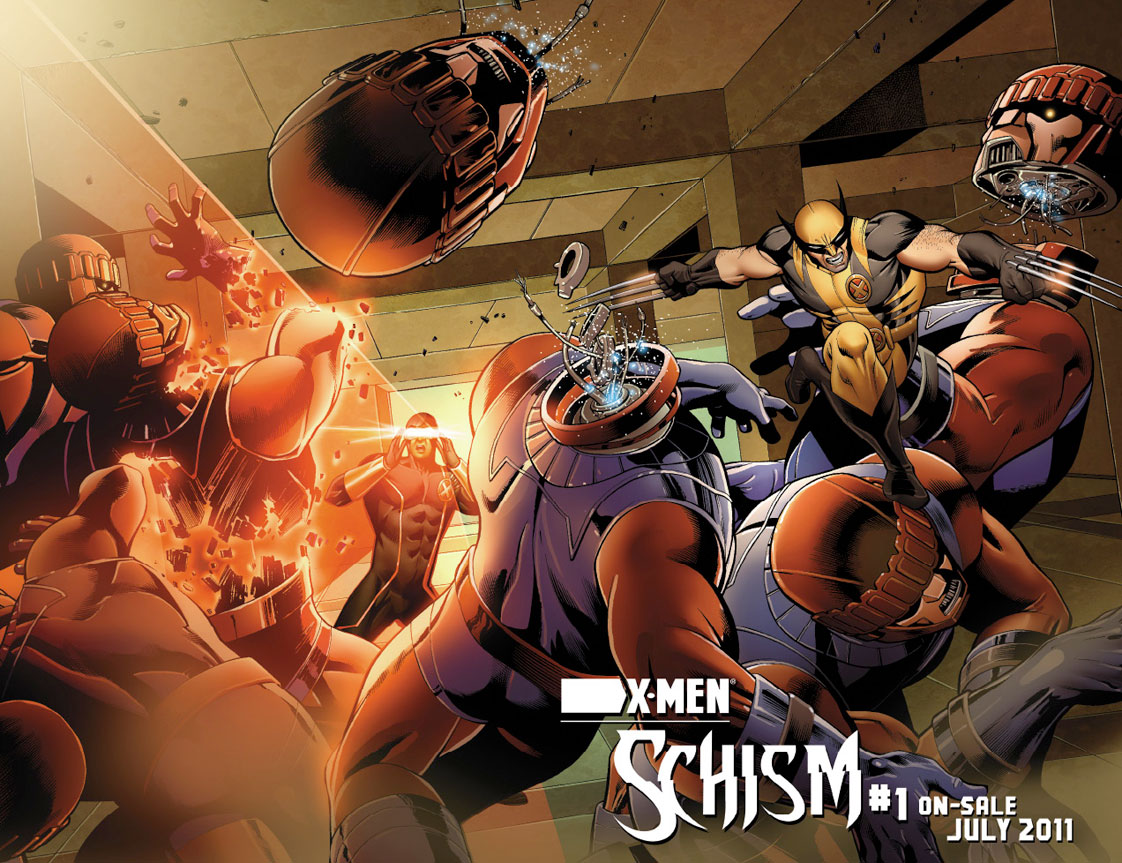 XMEN_Schism_1_Preview3 First Look At X-MEN: SCHISM #1