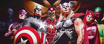 avengers_ross AlexRossArt.com at SDCC 2010
