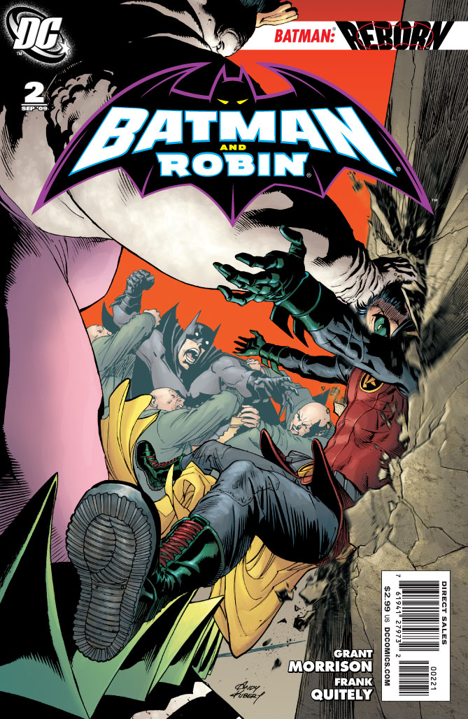 DC Reveals Andy Kubert BATMAN AND ROBIN #2 Cover