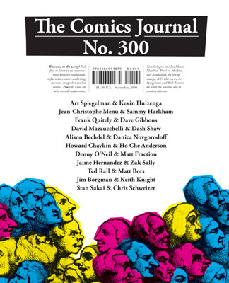 bookcover_cj300 Comics Journal announces fewer issues, expanded online content