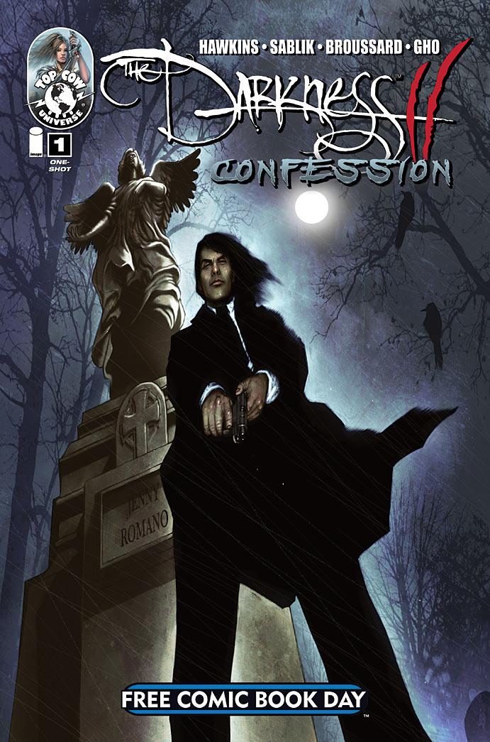 darknessIIconfession_fcbd2011 Top Cow to release THE DARKNESS II: CONFESSION on FCBD 2011
