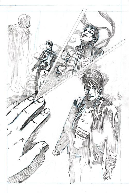 dl_pencils_p2 Preview the artwork behind Dark Horse's DEADLOCKE