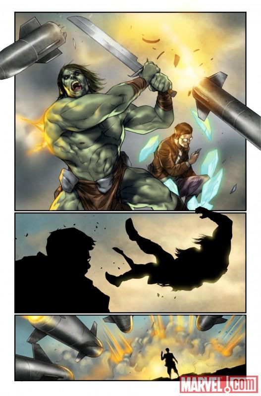 drhulk_4 Norman Osborn puts Hulk and Skaar on The List