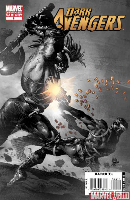 drkaven9_2nd Dark Avengers #9 sells out, returns with a second printing
