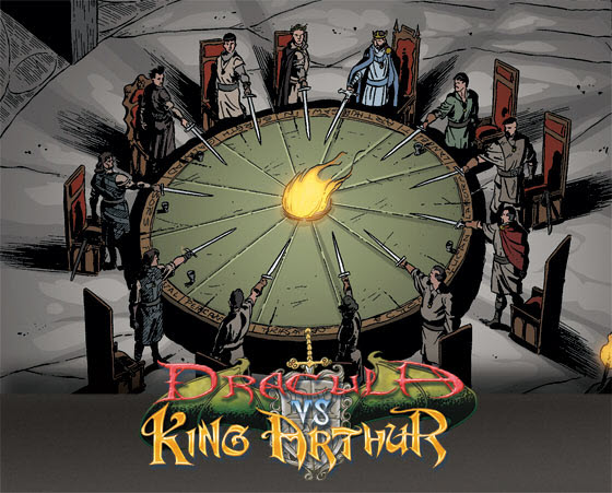 dvkaie_kick Dracula Vs King Arthur to return via Immortal Editions