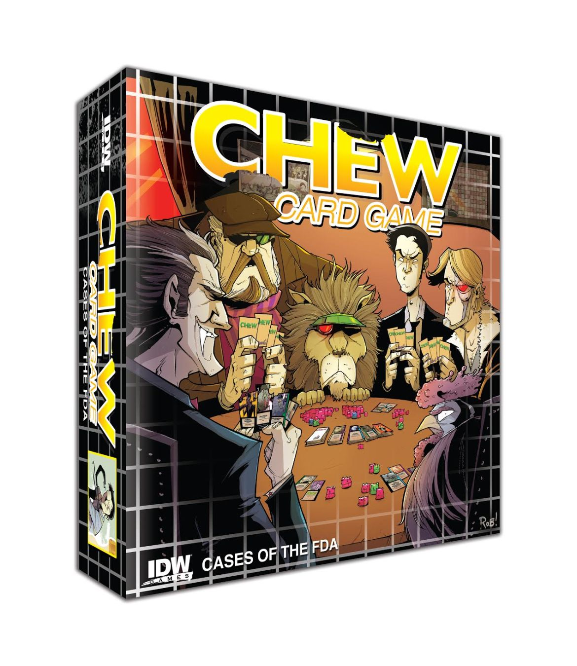 fa8e7cb6-d196-4c3c-a00e-ddd99651154b Pre-ordered CHEW: CASES OF THE FDA to include CHEW #1 variant