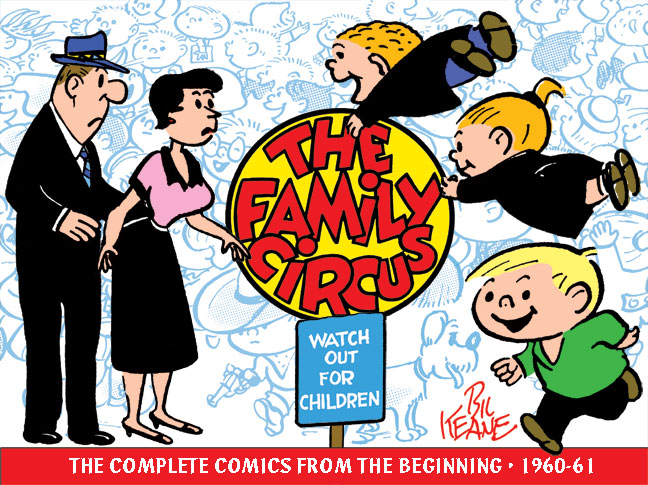 "familycircus IDW Offers Collection Of Bil Keane's ""The Family Circus"""