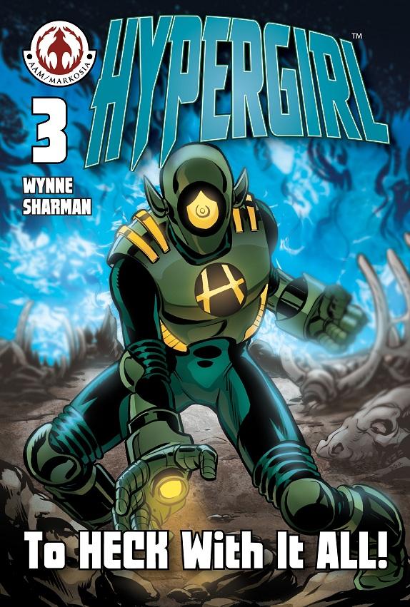 hypergirl003_frontcvr_crop Orang Utan Comics to release HYPERGIRL hardcover