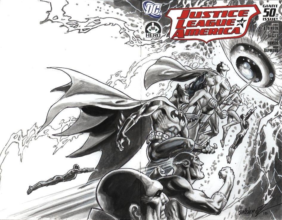 jla50_garcia-lopez-jose-luis DC and Hero Initiative announce Justice League Of America #50 Project