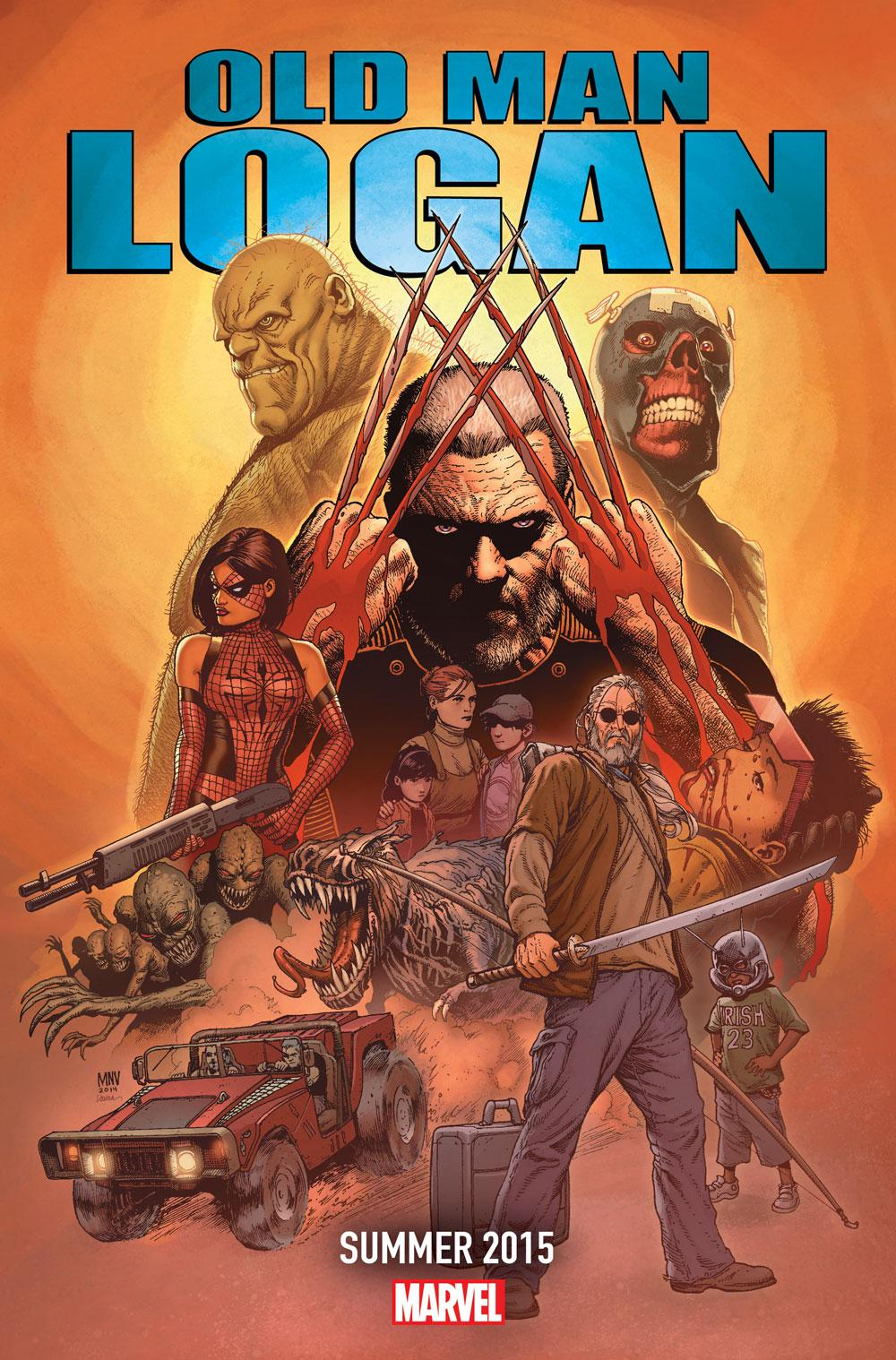 oldmanlogan OLD MAN LOGAN, he just keeps rollin' along