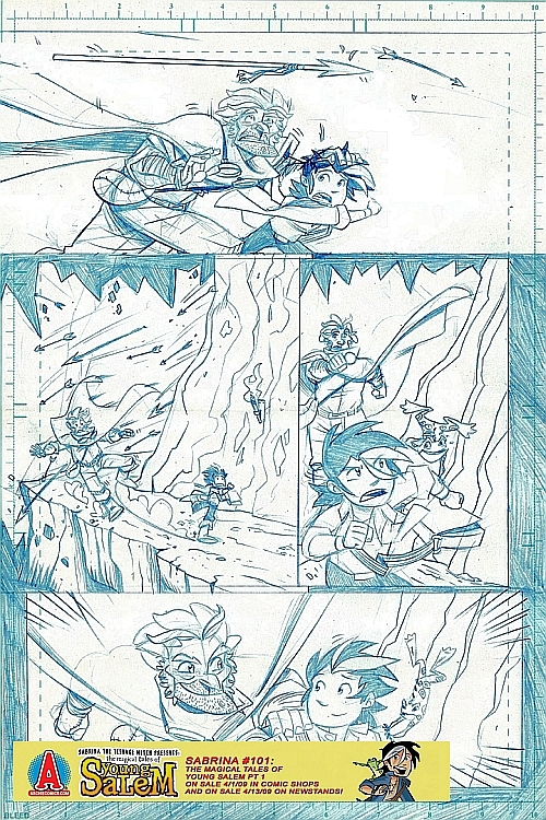 salem_preview2 A 9 Page Pencil Preview Of The Magical Tales Of Young Salem