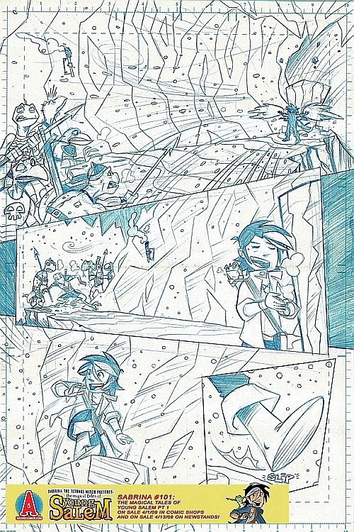 salem_preview4 A 9 Page Pencil Preview Of The Magical Tales Of Young Salem