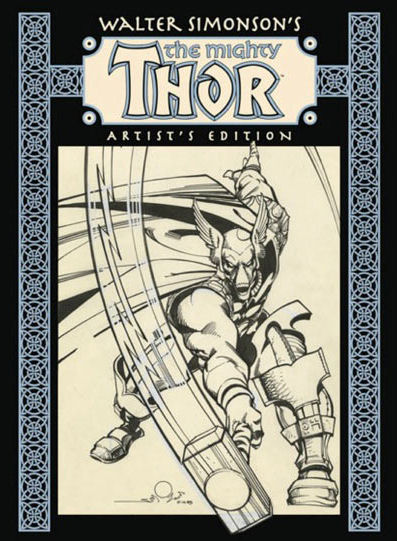 thor_idw_artists_edition IDW adds Marvel Comics to Artist's Edition series starting with THOR