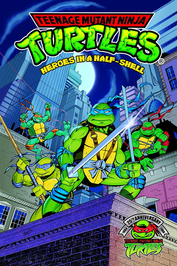 "tnmt1 ""Heroes In A Half Shell"" Features Earliest TMNT Archie Adventure"