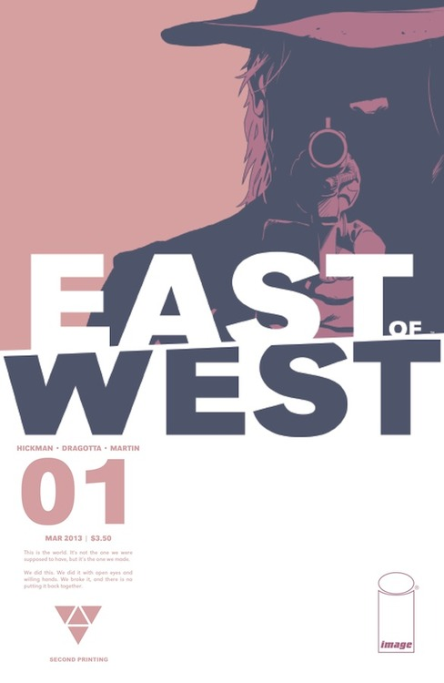 tumblr_inline_mkdmtfhFTS1qz4rgp First issue of EAST OF WEST gets new printing